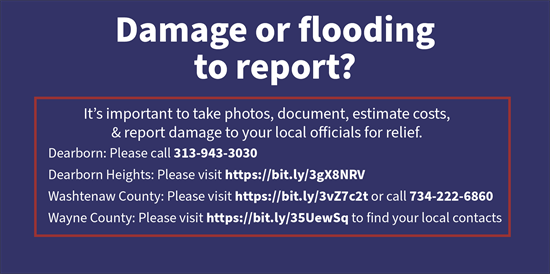 Flood Assistance Contacts